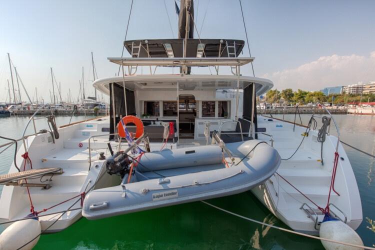 Lagoon 450f - Smile - Sail your Myth